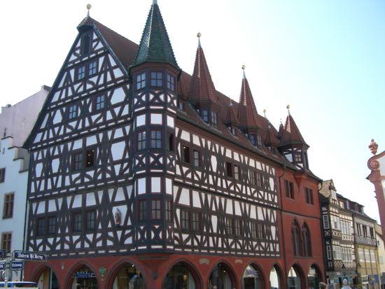 Flotte bindingsværkshuse i Fulda
