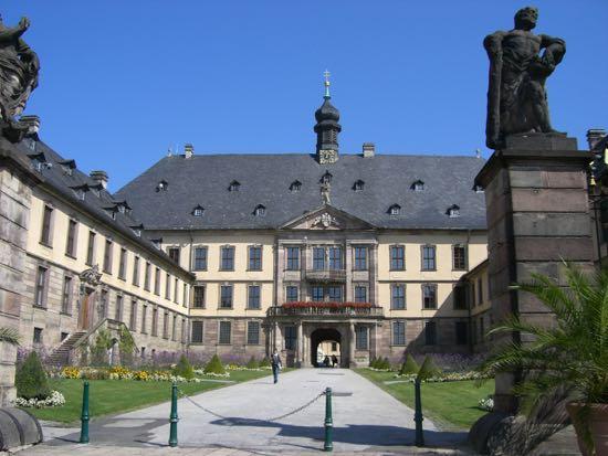 Slottet i Fulda