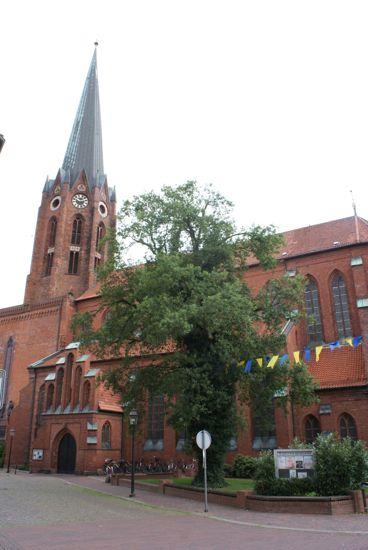Kirken i Buxtehude