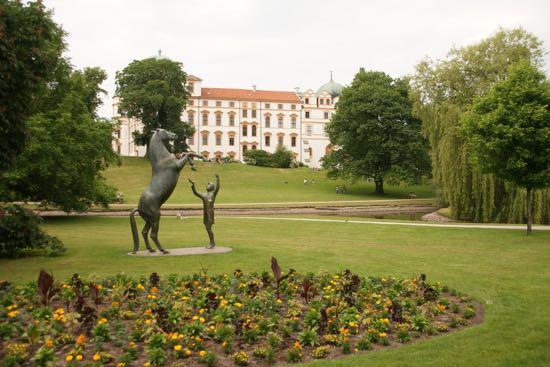 Byen Celle i Tyskland