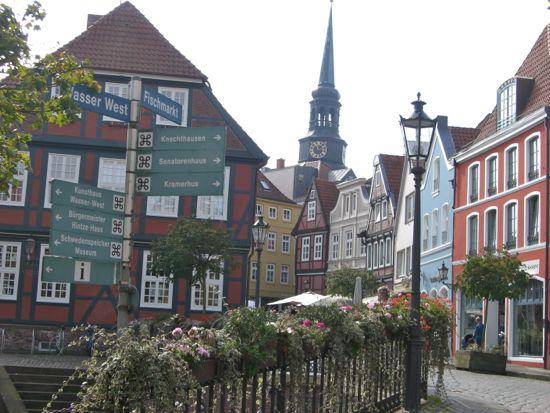 Byen Stade i Tyskland