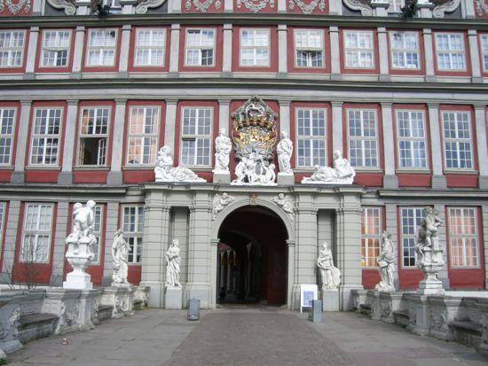 Hertug slottet i Wolfenbüttel