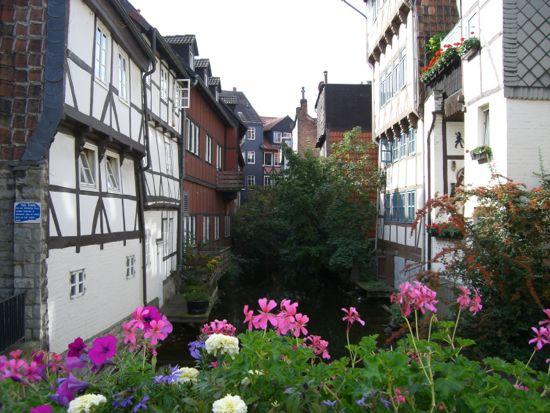 Lille Venedig i Wolfenbüttel