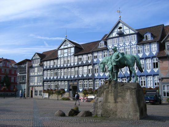 Stadtmarkt i Wolfenbüttel