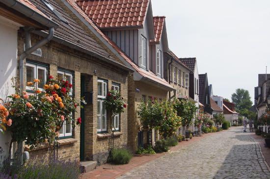 Motiv fra Holmen i Schleswig