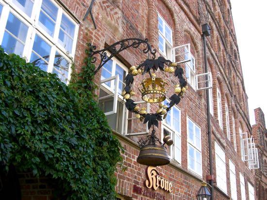 Et af Lüneburgs flotte lagskilte