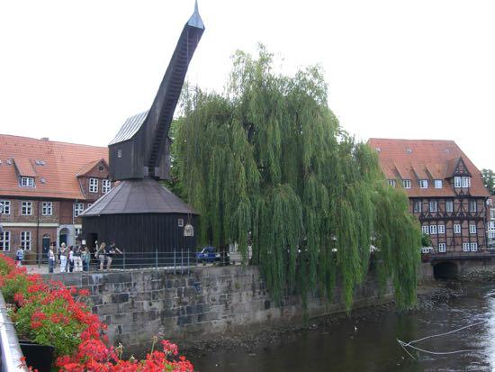 Lüneburgs gamle kran