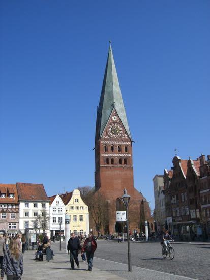 St.Johannis kirke i Lüneburg