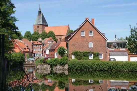 Byen Môlln i Tyskland