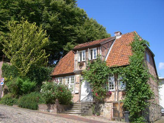 Nogle af Mölln´s gamle huse