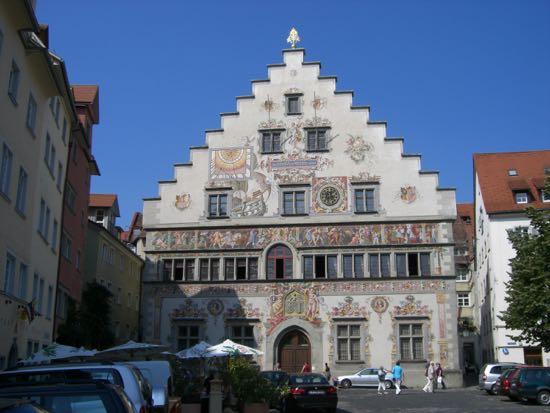 Et af Lindaus karakteristiske huse