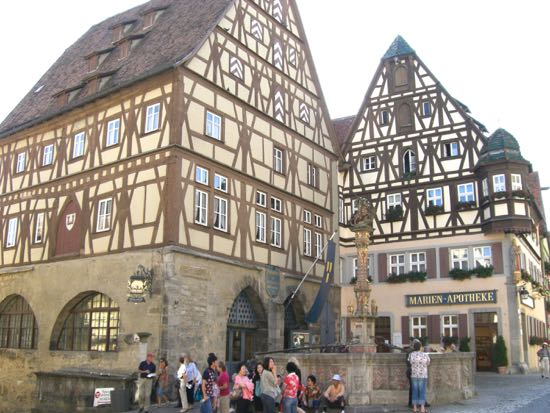 Georgs brønden i Rothenburg