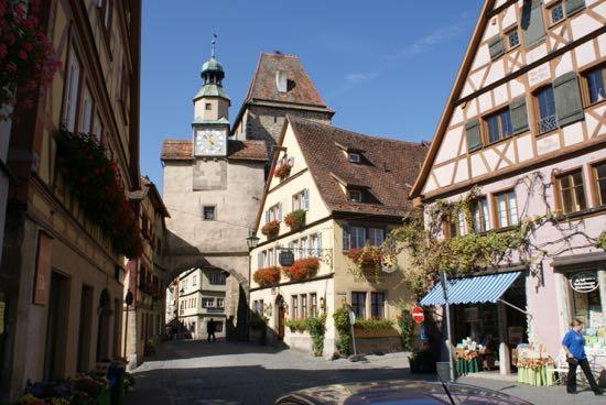 Röderbuen i Rothenburg ob der Tauber