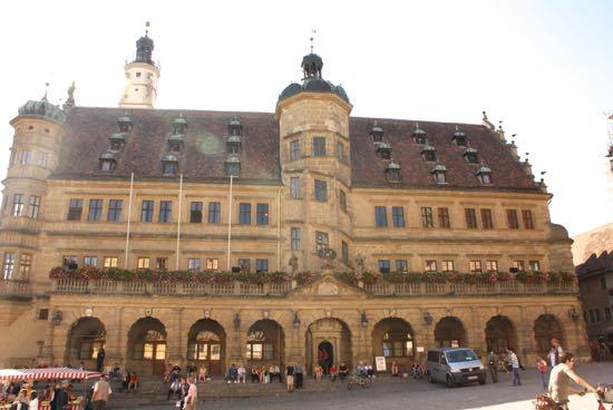 Rådhus i Rothenburg ob der Tauber