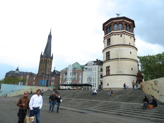 Düsseldorf i Tyskland