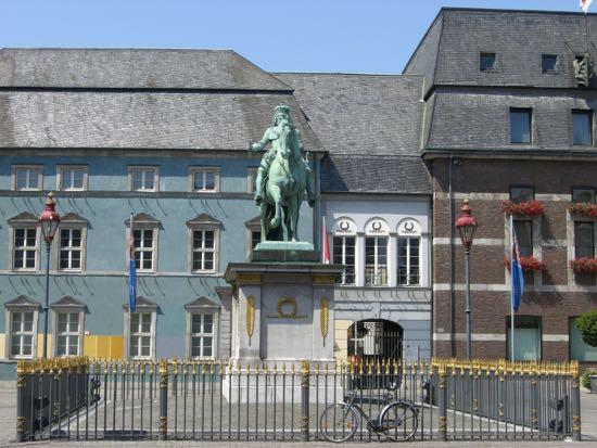 Rytterstatuen med Johan Wilhelm 2. i Düsseldorf