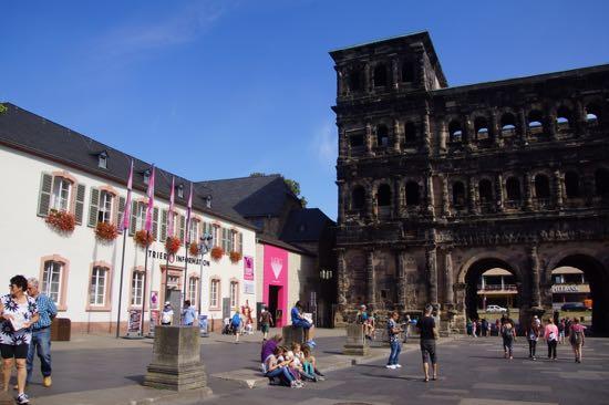 Turist i Trier