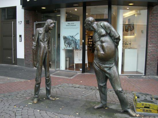 Bronze skulptur af Karl Henning Seeman