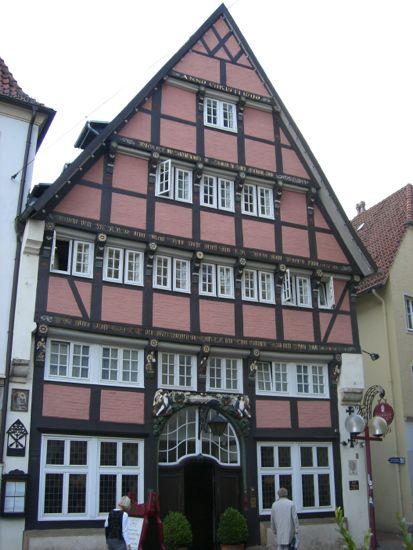 Et af Osnabrücks gamle huse