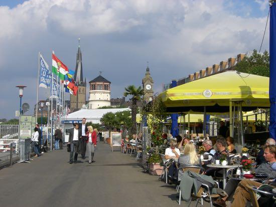 Promenaden i Düsseldorf