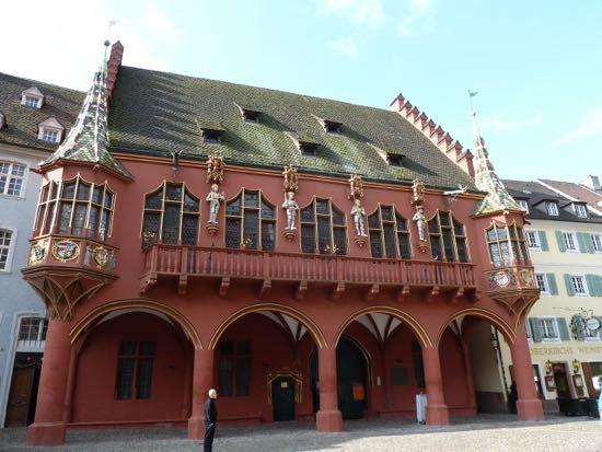 Det gammel Handelshuse i Freiburg