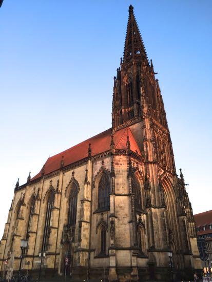 St. Lamberti-kirke i Münster