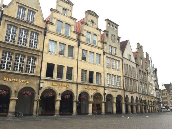 Gavl huse i Münster
