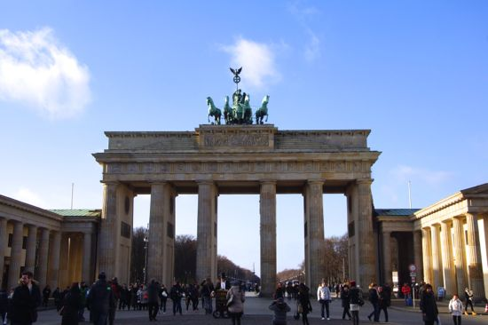Brandenburger Tor i Berlin