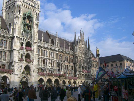 Neues Rathaus i München