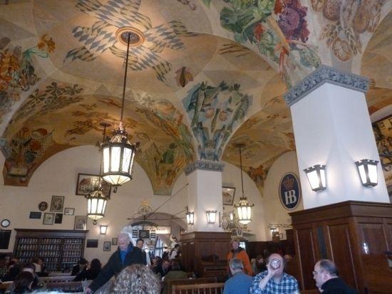 Hofbraühaus Münchens berømte ølstue