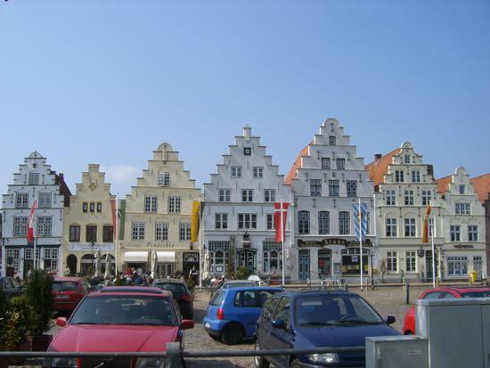 Markedspladsen i Friderichstadt