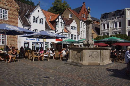 Neptun brønden i Flensborg