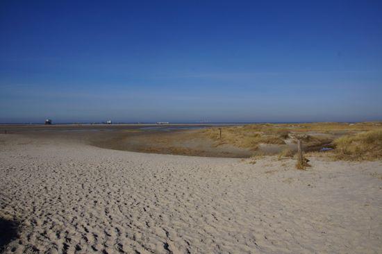 Stranden i St. Peter-Ording
