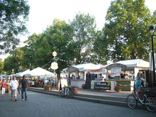 Biergarden i Bremen