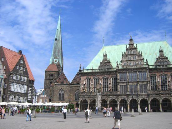 Byen Bremen i Tyskland