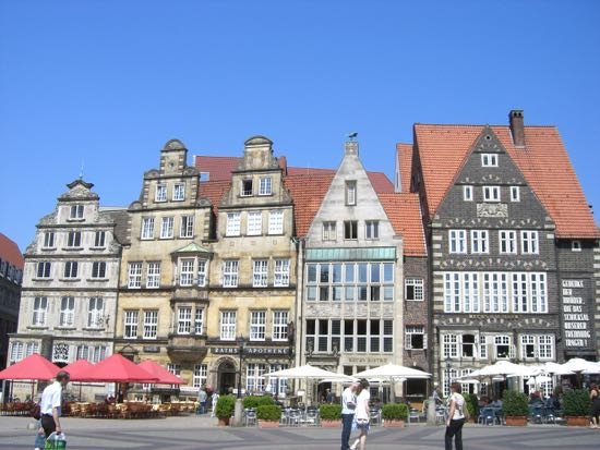 Gavlhuse i Bremen