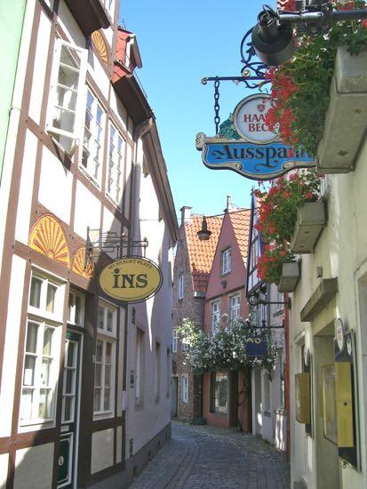 Schnoor Bremens ældste bydel