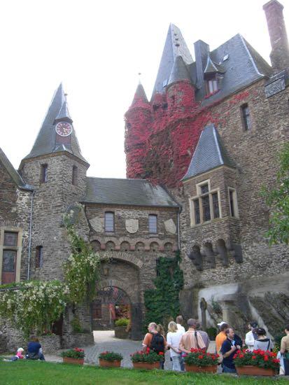Borgen Reichsburg i Cochem