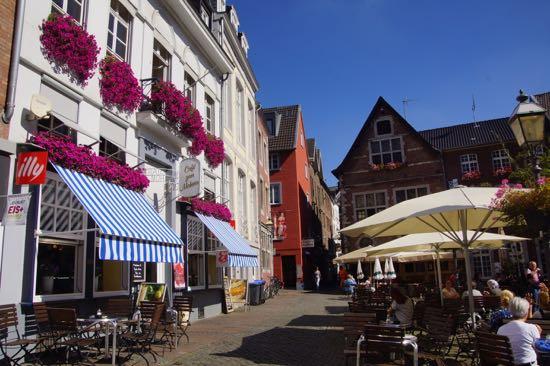 Byen Aachen i Tyskland