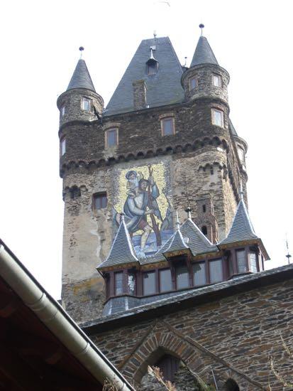 Tårnet på borgen Reichsburg