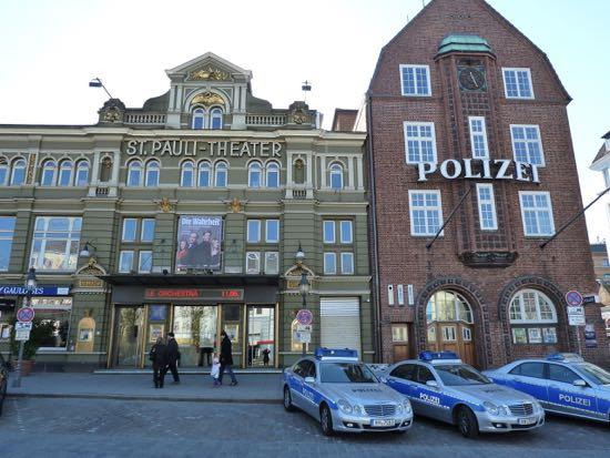 St.Pauli i Hamborg