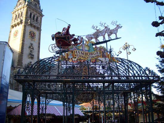 Julemarked i Hamburg