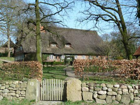 Et af Egestorf gamle huse