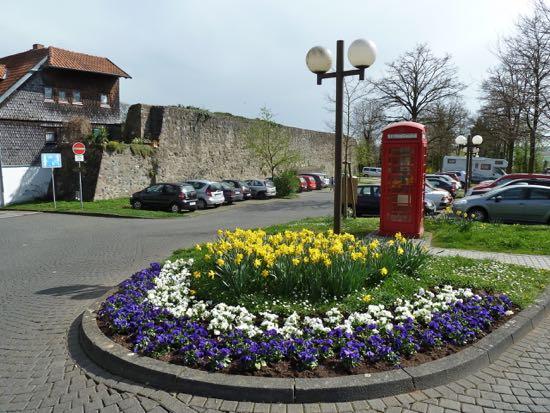 Kik til lidt af Fritzlars bymur