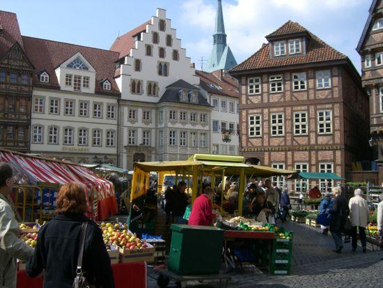 Hildesheims historiske torv
