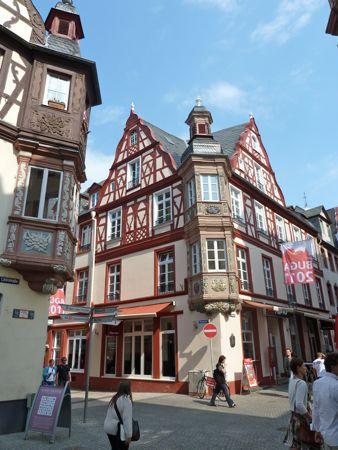 Bindingsværks huse i Koblenz