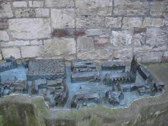 Burgplatz fra middelalderen