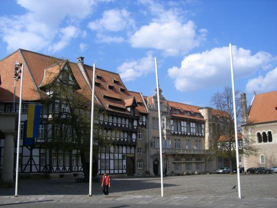 Burgplatz i Braunschweig