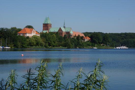 Byen Ratzeburg i Tyskland