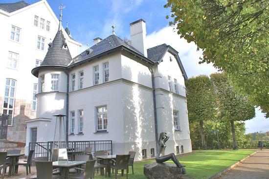 Cafe ved slottet i Plön